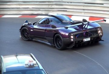 Zonda Supercar Accident in Monaco